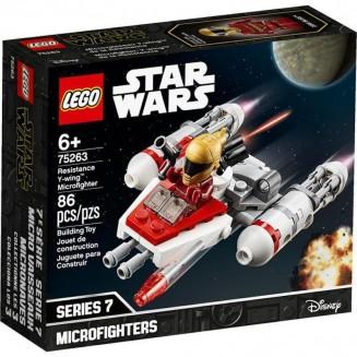 LEGO STAR WARS - MICROFIGHTER Y-WING DA RESISTENCIA 86PCS