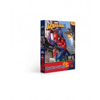 QUEBRA CABECA 100PCS SPIDER MAN TOYSTER